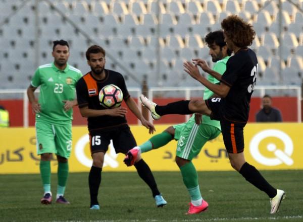 الزوراء والنفط يختتمان قمة الجولة العاشرة من دوري القدم