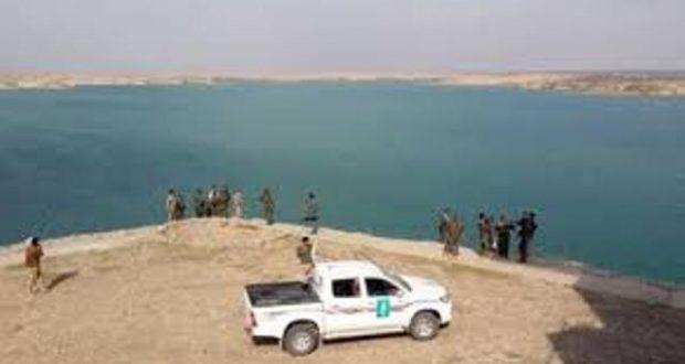 """الحشد الشعبي يحبط تسللا لـ""""داعش"""" في اطراف بحيرة حمرين"""
