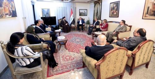 السيد عمار الحكيم وعلاوي يشددان على تسمية أكفاء ومخلصين في الوزارات الشاغرة