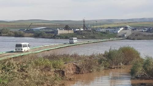 لأول مرة إفتتاح جسر للمسافرين بين الاقليم وسوريا