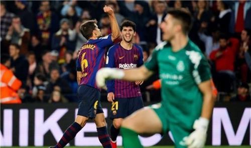 برشلونة يتأهل لثمن نهائي كأس الملك في غياب نجومه