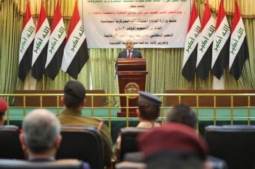 عبد المهدي بيوم النصر الفساد من أوجه الإرهاب وحملة الإعمار ستشمل كافة المحافظات