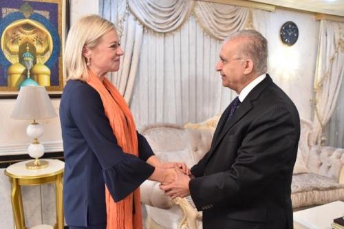 ممثـلة يونامي الجديدة تتسلم مهامها في العراق