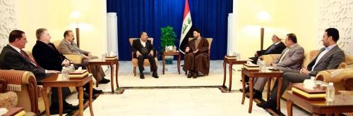 السيد عمار الحكيم ووفد الوطنية يؤكدان أهمية تكليف وزراء اكفاء في الكابينة المتبقية
