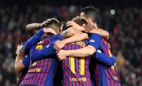 برشلونة يختتم الدوري الإسباني في 2018 بفوز مريح على سيلتا