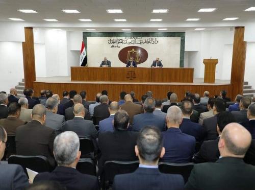 القضاء يوجه بالإسراع في حسم قضايا الفساد