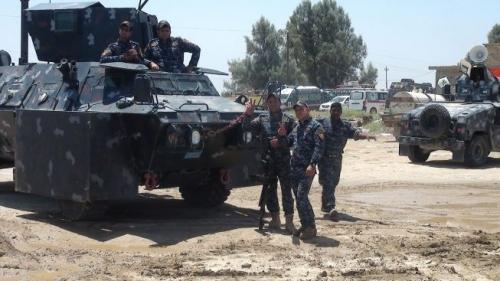 ضبط منصات صواريخ داخل مضافات لداعش في الحويجة