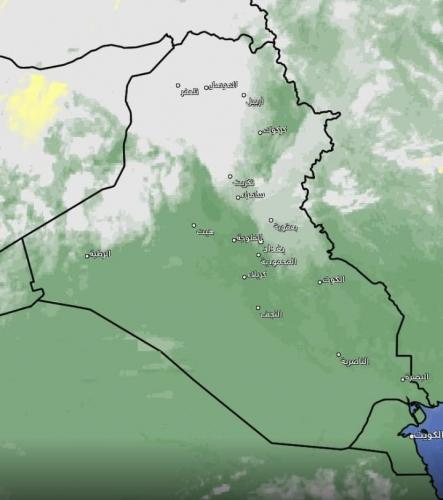 متنبئ جوي: أمطار في العراق خلال الساعات المقبلة