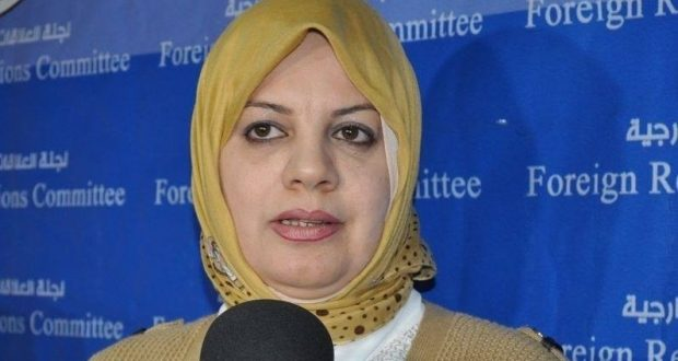 نائبة: البرلمان متجه لدعم الجيش والحشد والاهتمام بعوائل الشهداء والجرحى