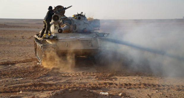 """الحشد الشعبي يحبط تسللا لداعش على الحدود ويسقط """" 43 """" ارهابيا بين قتيل وجريح"""