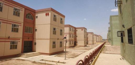 انشاء 4 الاف وحدة سكنية في الموصل