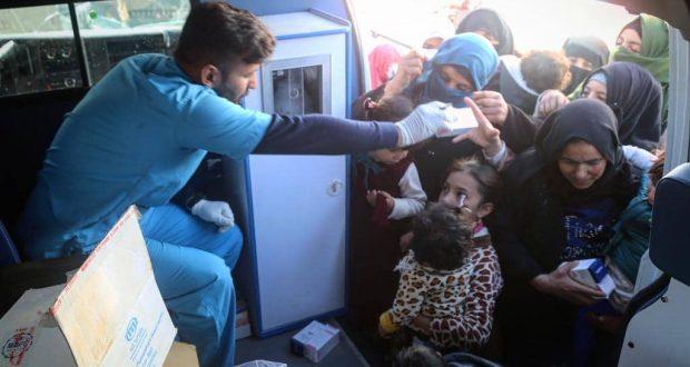 """عمليات الانبار للحشد تطلق حملة إنسانية في ناحية """"الرمانة"""" وتتكفل بمعالجة المرضى"""