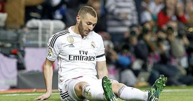بنزيما ينضم الى سلسلة الاصابات في ريال مدريد
