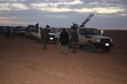 """""""داعش"""" يستغل سوء الاحوال الجوية على الحدود والحشد يرد عليه بعملية استباقية"""