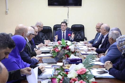 وزير التخطيط العراقي يرأس اجتماع اللجنة الفنية لاستراتيجية تطوير القطاع الخاص ٢٠٣٠