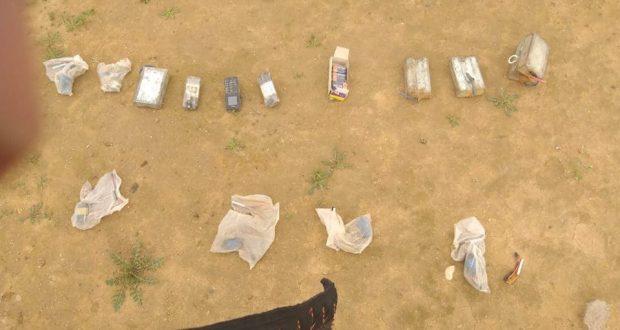 الحشد والقوات الأمنية يعثران على مواد متفجرة خلال عملية دهم وتفتيش في البعاج