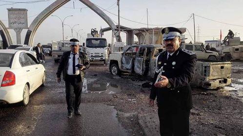 """الحشد الشعبي يلقي القبض على مدبر تفجير """"سيطرة الاقواس"""" في تكريت"""
