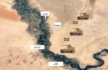 """بعد هجوم لـ""""داعش"""" على """"قسد"""" الحشد الشعبي يرفع حالة الجهوزية على الحدود العراقية السورية"""