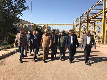 المهندس يزور معمل الحديد والصلب بالبصرة ويؤكد ضرورة تنشيط الصناعة الوطنية