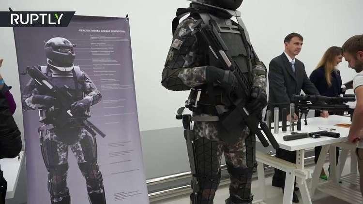 بزة الجندي الروسي المستقبلية تتكامل مع الروبوتات والدرونات