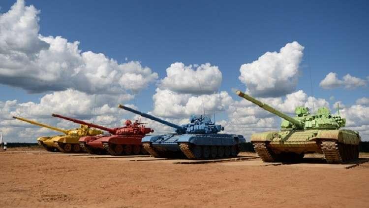 الجيش الروسي يشكل أول طاقم دبابة نسائي