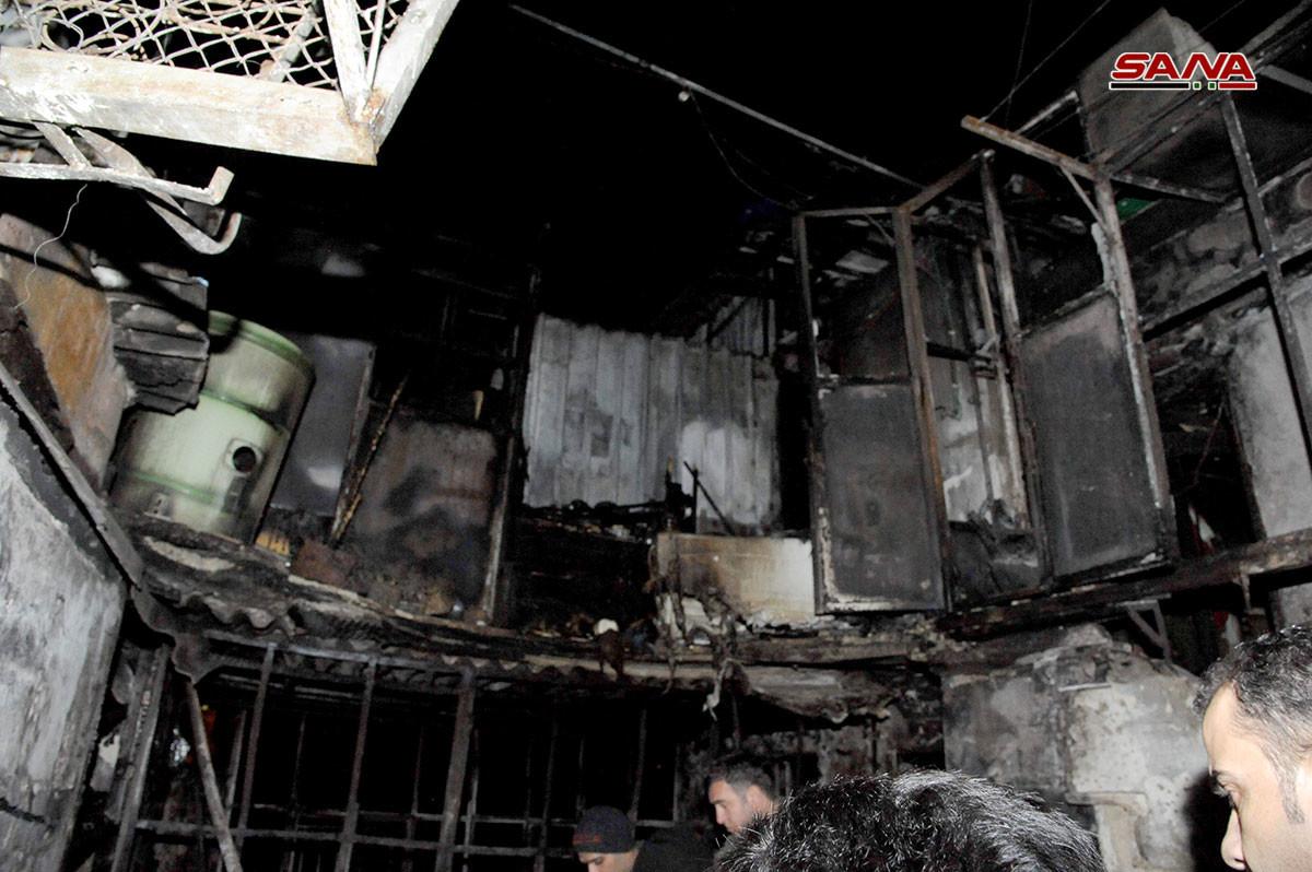 مقتل سبعة أطفال أشقاء بحريق منزلهم في دمشق