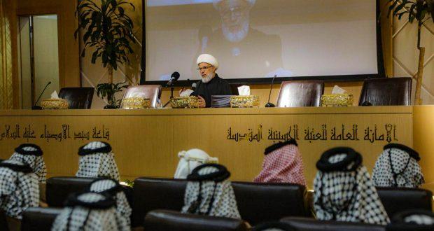 ماذا قال ممثل المرجعية لشيوخ ووجهاء عشائر العراق؟