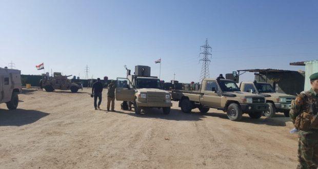 قاطع الفرات الاوسط للحشد يطهر ٢٢ كم في منطقة البحيرات شمال بابل