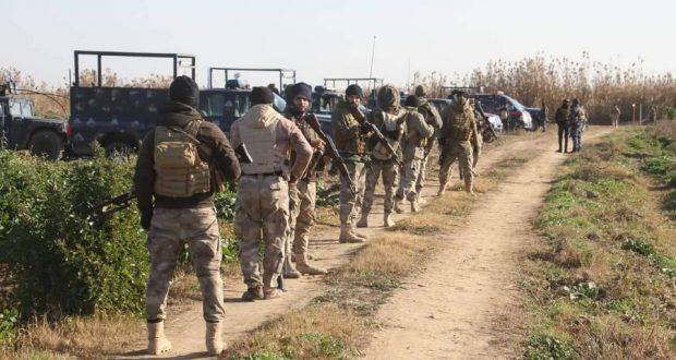الحشد الشعبي والقوات الأمنية ينفذان عملية عسكرية ناجحة شمالي سامراء المقدسة