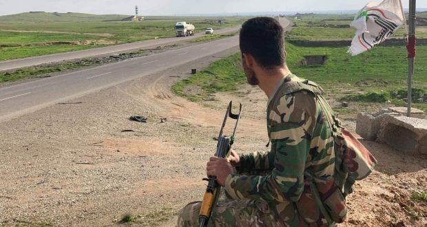 بالصور.. مقاتلو اللواء 52 في الحشد يرابطون على طريق بغداد – كركوك