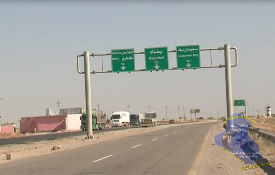 الحشد الشعبي ينفي انفلات الوضع الامني ليلاً في طريق بغداد – كركوك