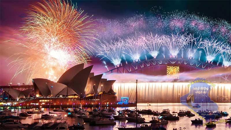 مدينة عربية ضمن أفضل 10 مدن في احتفالات رأس السنة الجديدة