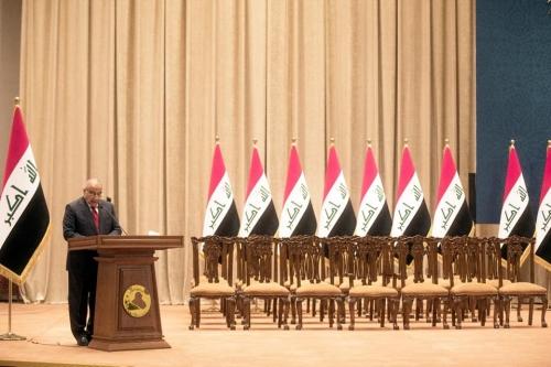 سائرون يدعو عبد المهدي لتلافي أخطاء الكابينة ويستبعد إكمالها الا بهذه الحالة