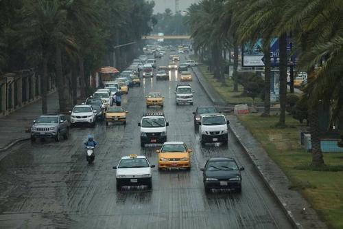 توقعات حالة الأمطار بالعراق في الأسبوع الحالي والمقبل
