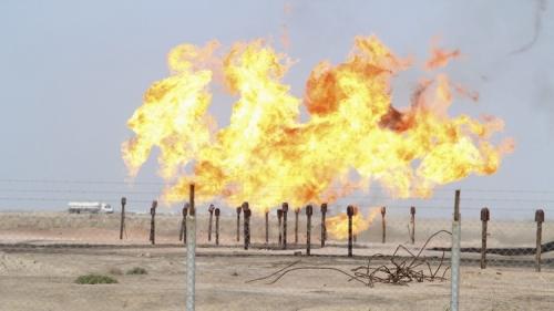 النفط تعلن إرتفاع إنتاج الغاز السائل في جنوب البلاد
