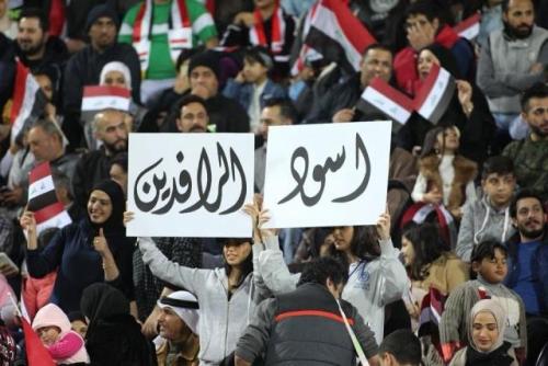 الجماهير العراقية تتوافد الى الإمارات والمنتخب يستعيد نجمه