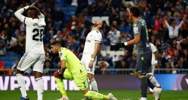 سقوط جديد لريال مدريد.. والمدرجات تفرغ مبكراً