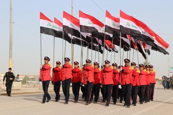 العمليات المشتركة تصدر بياناً بعيد الشرطة العراقية