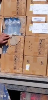 ضبط شحنة أدوية بشرية معدة للتهريب في الخازر
