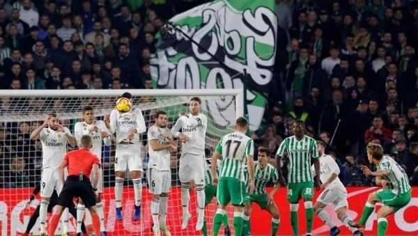إنتصار قاتل لريال مدريد على بيتيس