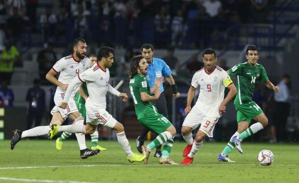 نجم المنتخب الوطني يتوقع مشوار العراق بعد مباراة إيران