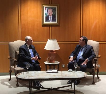وزير الخارجية يصل إلى بيروت للمشاركة في القمة العربية الاقتصادية