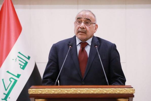 عبد المهدي يتفقد المشاريع الخدمية في قضاء شط العرب