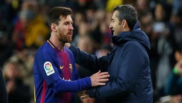 تصريح غريب لمدرب برشلونة عن مستقبل مشاركة ميسي بالمباريات