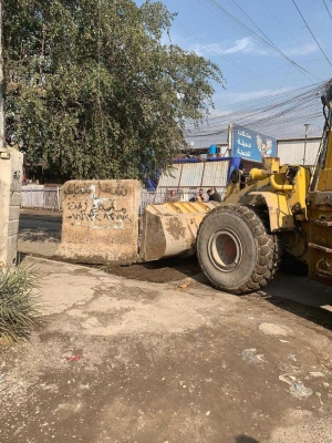 فتح 5 شوارع بمنطقة الشعب بعد غلق دام لعدة سنوات