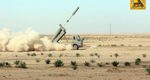 الحشد الشعبي يقصف مقار داعش بـ50 صاروخا في الباغوز شرق سوريا
