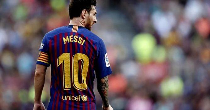 إصابة ميسي قرار جديد من أطباء برشلونة