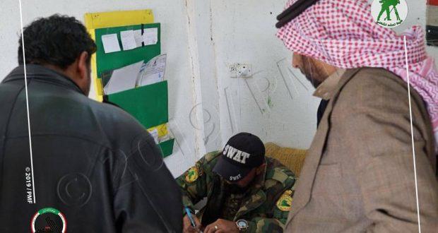 الحشد الشعبي يشرف على عودة نازحي غرب الموصل