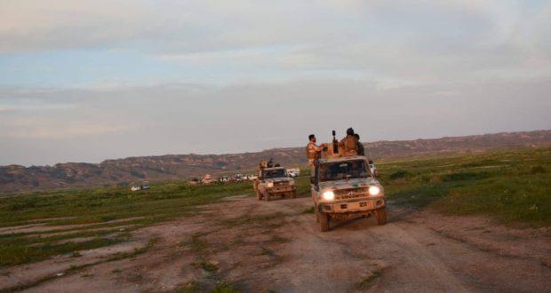 """الحشد الشعبي ينقذ 30 مدنيا حاصرهم """"داعش"""" في حمرين"""