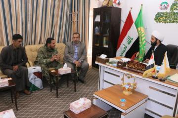 الوقف الشيعي يرسل عددا من المقاتلين الى خارج العراق لغرض العلاج